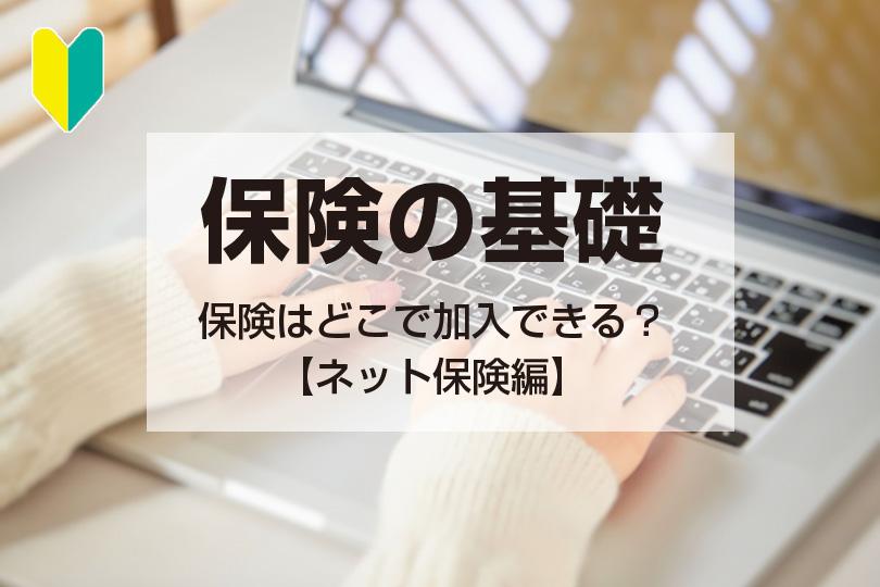 保険の基礎イメージネット保険編